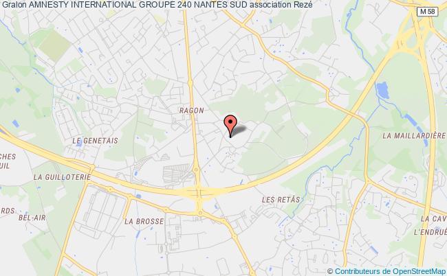 plan association Amnesty International Groupe 240 Nantes Sud