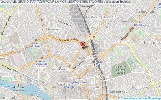 plan association Ams Grand Sud (agir Pour La Mobilisation Des Savoirs)