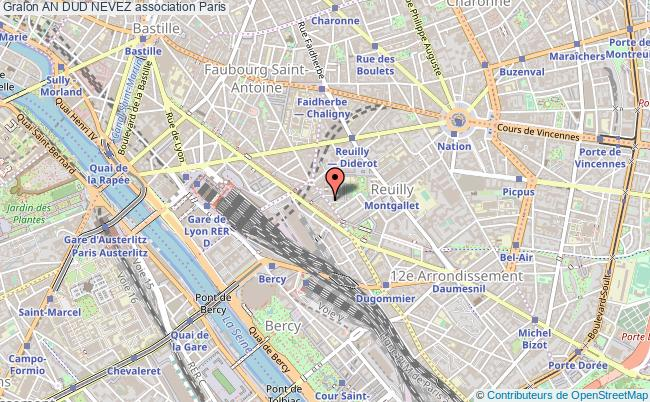 plan association An Dud Nevez Paris