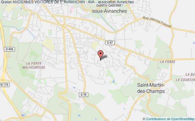 plan association Anciennes Voitures De L' Avranchin - Ava -