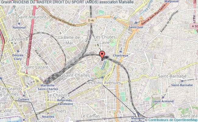 plan association Anciens Du Master Droit Du Sport (amds) Marseille