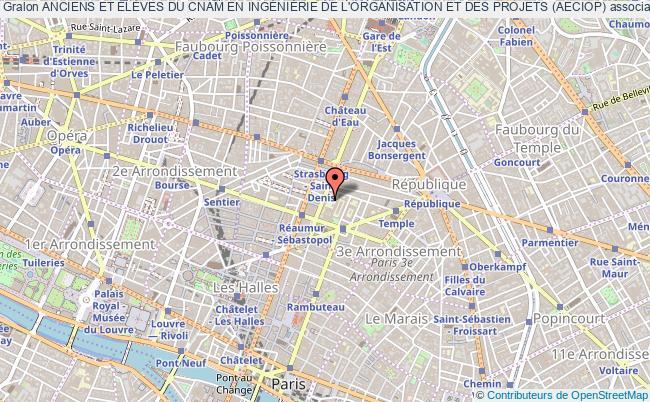 plan association Anciens Et ÉlÈves Du Cnam En IngÉniÉrie De L'organisation Et Des Projets (aeciop)