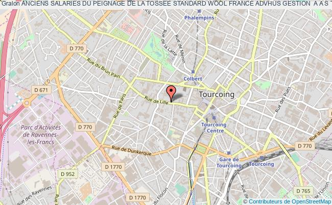 plan association Anciens Salaries Du Peignage De La Tossee Standard Wool France Advhus Gestion  A A S T Tourcoing