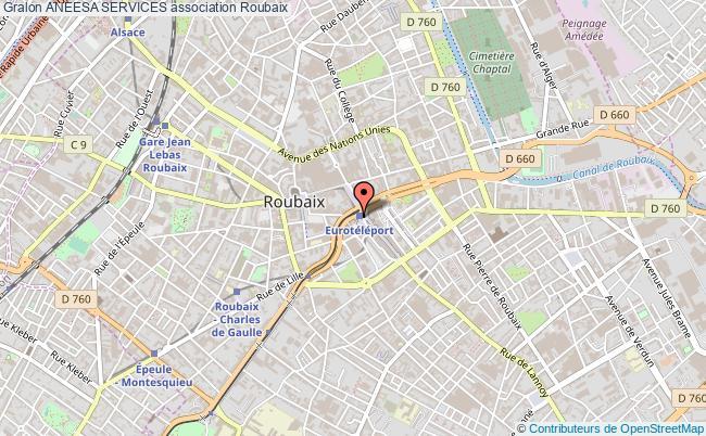 plan association Aneesa Services Roubaix