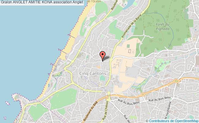 plan association Anglet Amitie Kona