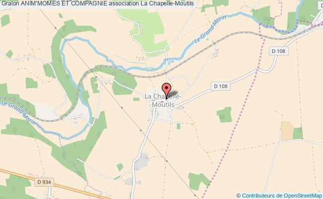 plan association Anim'momes Et Compagnie La    Chapelle-Moutils