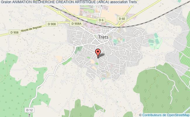 plan association Animation Recherche Creation Artistique (arca)