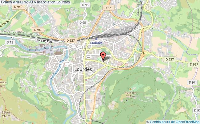 plan association Annunziata Lourdes