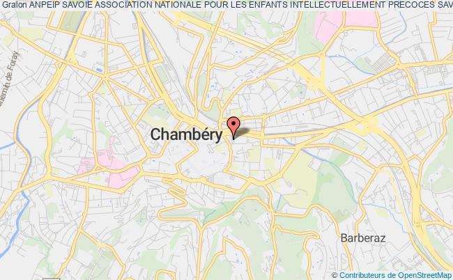 plan association Anpeip Savoie Association Nationale Pour Les Enfants Intellectuellement Precoces Savoie