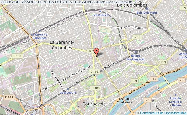 plan association Aoe : Association Des Oeuvres Educatives