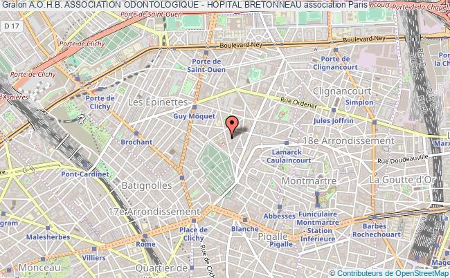 plan association A.o.h.b. Association Odontologique - Hopital Bretonneau
