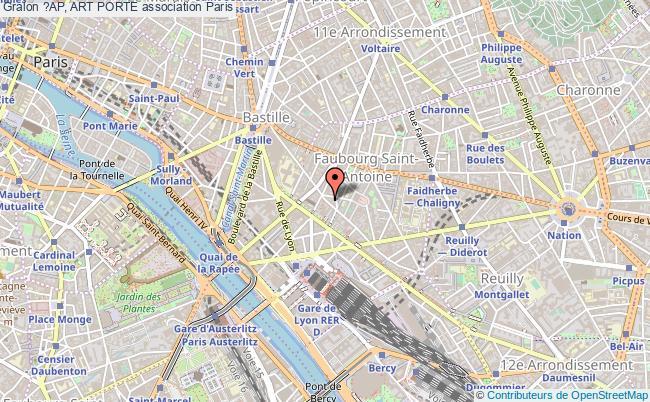 plan association ?ap, Art Porte Paris