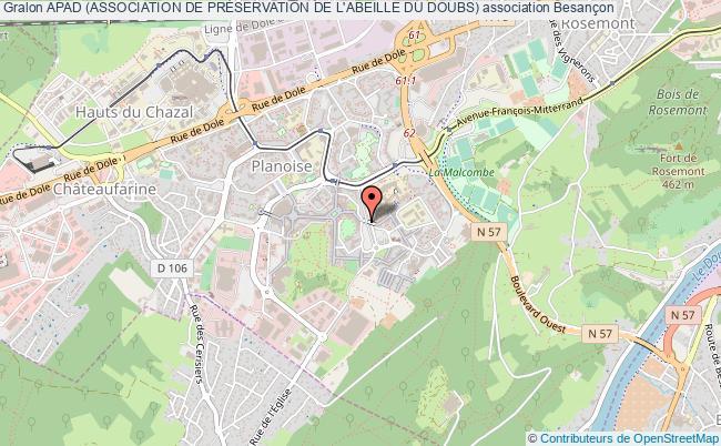 plan association Apad (association De PrÉservation De L'abeille Du Doubs)