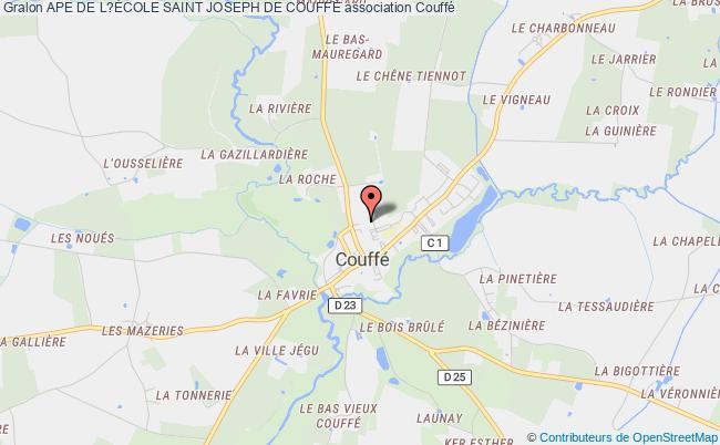 plan association Ape De L?École Saint Joseph De CouffÉ