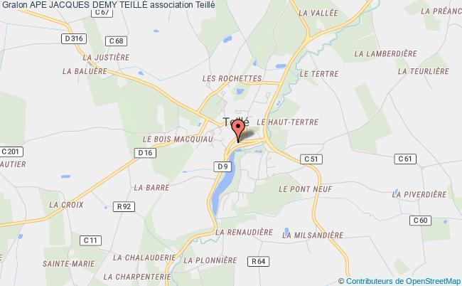 plan association Ape Jacques Demy TeillÉ