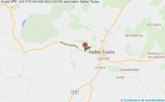 plan association Ape. Les Pitchouns Gaillacois Gaillac-Toulza