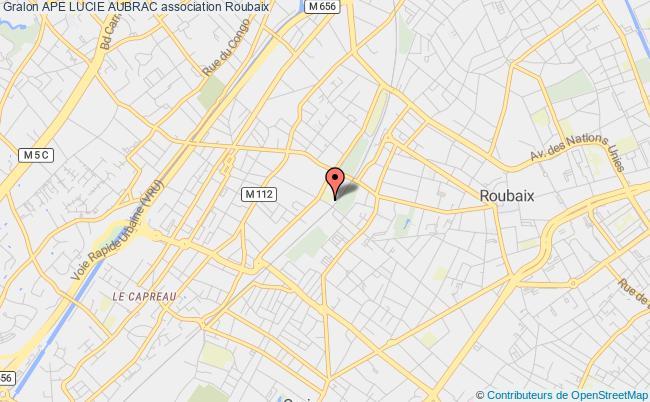 plan association Ape Lucie Aubrac Roubaix