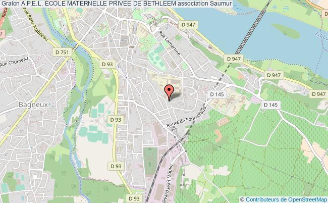 plan association A.p.e.l. École Maternelle PrivÉe De Bethleem