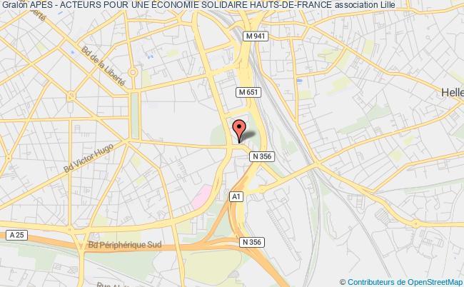 plan association Apes - Acteurs Pour Une Économie Solidaire Hauts-de-france Lille