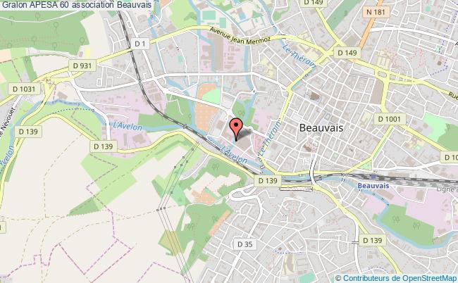 plan association Apesa 60 Beauvais