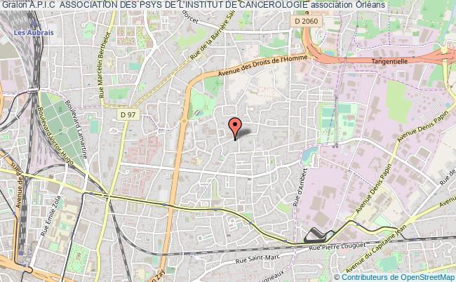 plan association A.p.i.c  Association Des Psys De L'institut De Cancerologie