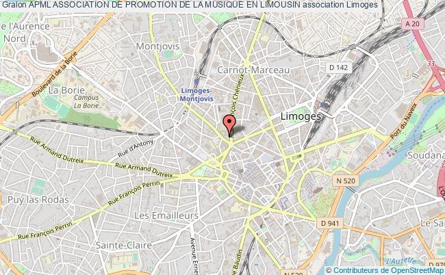 plan association Apml Association De Promotion De La Musique En Limousin