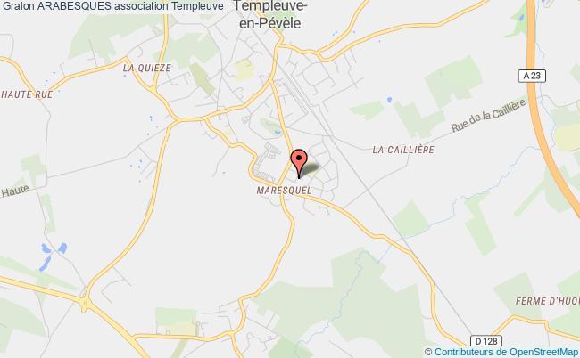 plan association Arabesques Templeuve