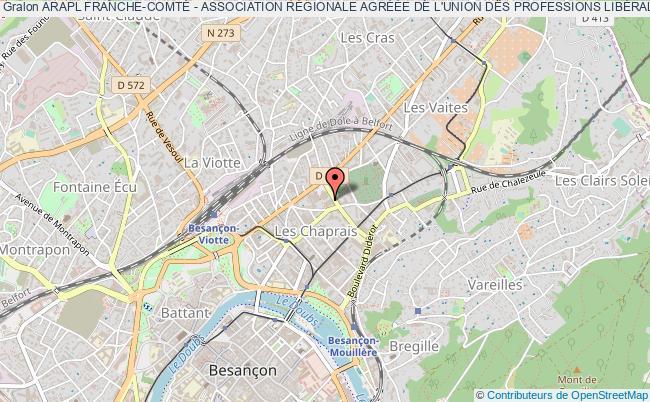 plan association Arapl Franche-comtÉ - Association RÉgionale AgrÉÉe De L'union Des Professions LibÉrales