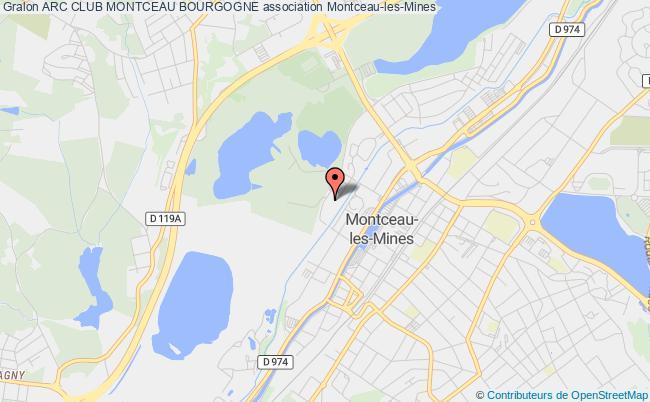 plan association Arc Club Montceau Bourgogne