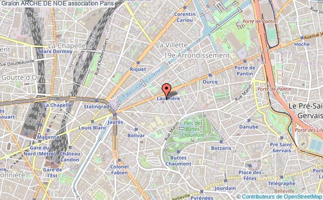 plan association Arche De Noe