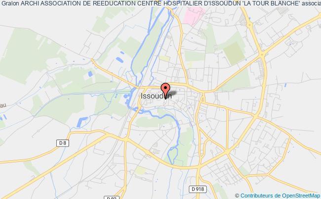 plan association Archi Association De Reeducation Centre Hospitalier D'issoudun 'la Tour Blanche' Issoudun