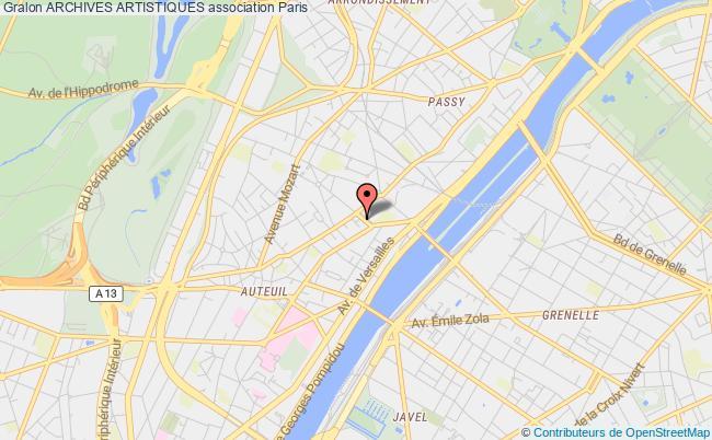 plan association Archives Artistiques