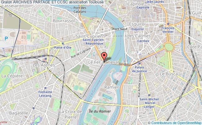 plan association Archives Partage Et Ccsc Toulouse