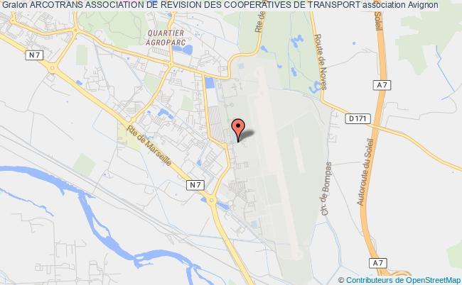 plan association Arcotrans Association De Revision Des Cooperatives De Transport
