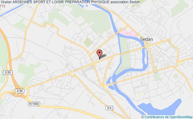 plan association Ardennes Sport Et Loisir Preparation Physique