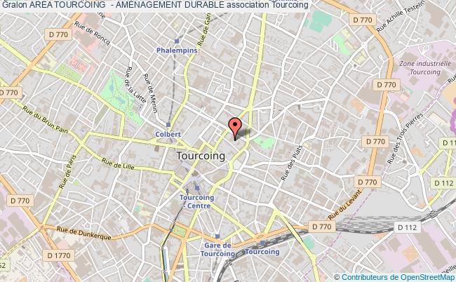 plan association Area Tourcoing  - AmÉnagement Durable