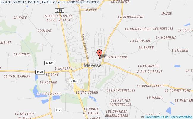 plan association Armor, Ivoire, Cote A Cote Rennes
