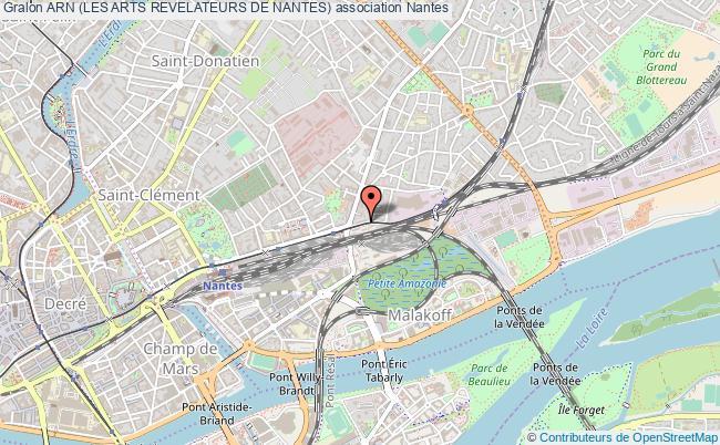 plan association Arn (les Arts Revelateurs De Nantes)