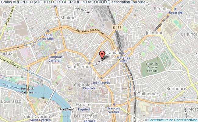 plan association Arp-philo (atelier De Recherche Pedagogique)