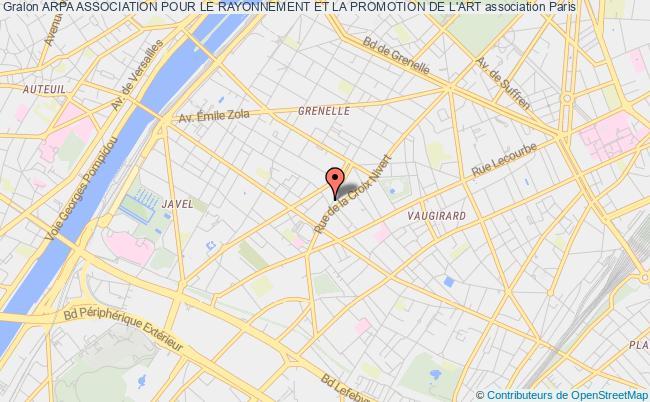 plan association Arpa Association Pour Le Rayonnement Et La Promotion De L'art