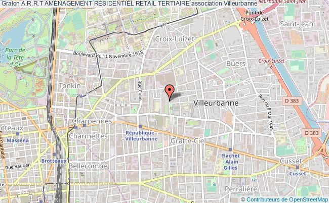plan association A.r.r.t AmÉnagement RÉsidentiel Retail Tertiaire