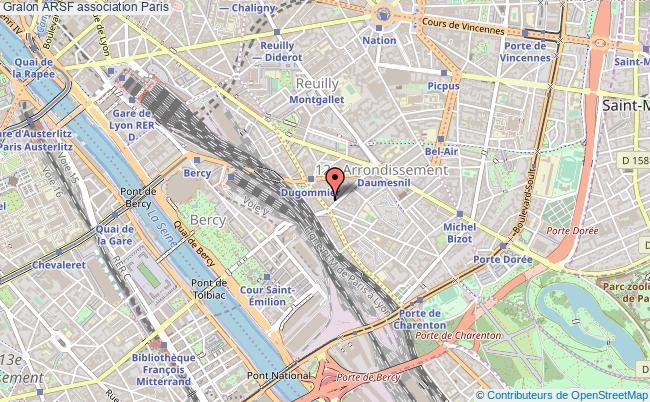 plan association Arsf Paris