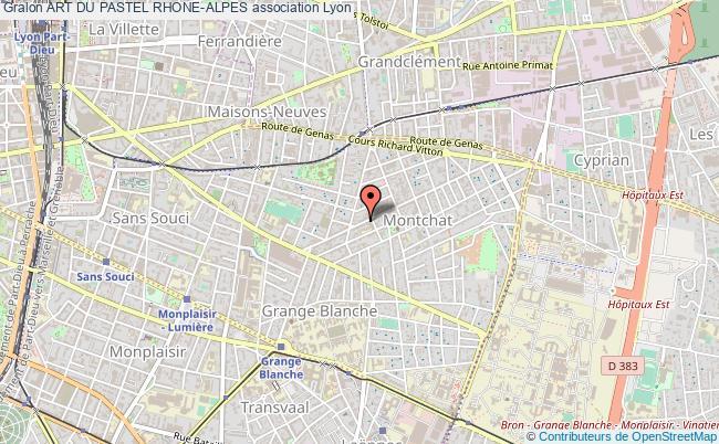 plan association Art Du Pastel Rhone-alpes