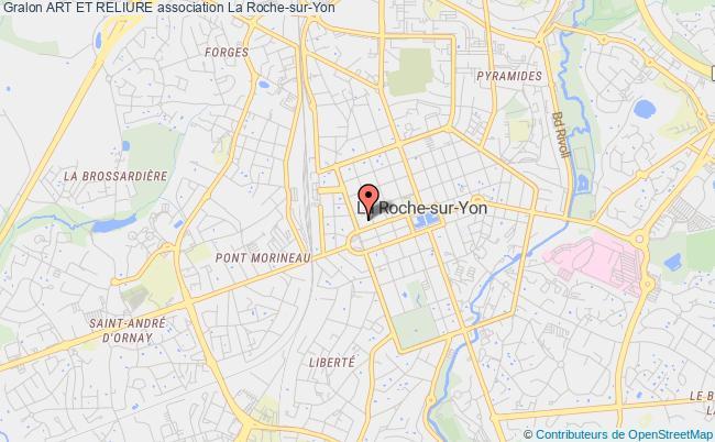 plan association Art Et Reliure La    Roche-sur-Yon