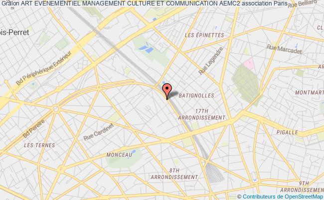 plan association Art Evenementiel Management Culture Et Communication Aemc2