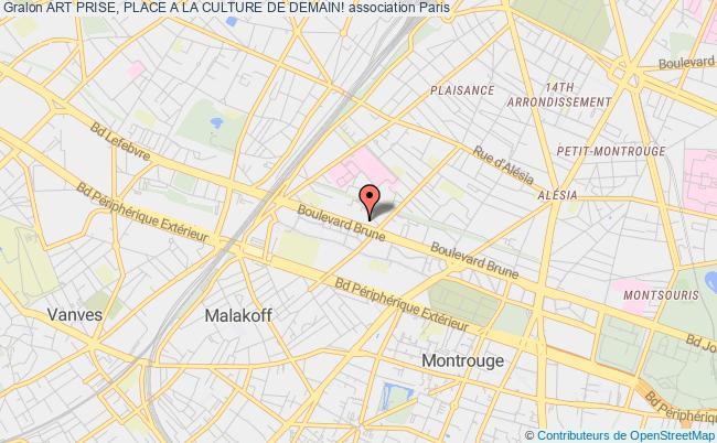 plan association Art Prise, Place A La Culture De Demain!