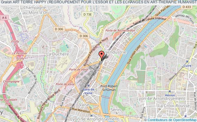 plan association Art Terre Happy (regroupement Pour L'essor Et Les Echanges En Art-therapie Humaniste)