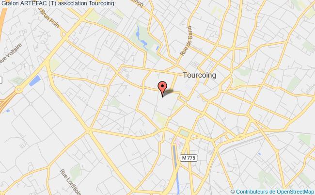 plan association Artefac (t) Tourcoing