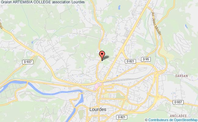 plan association Artemisia College Lourdes