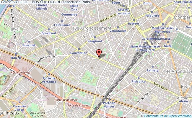 plan association Artifice - Bda Sup Des Rh